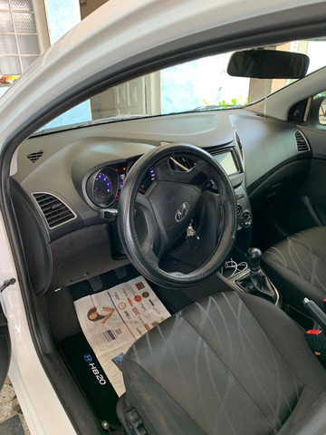 Hyundai HB20 Branco 1.0 Perfeito estado com histórico de manutenção - Foto 3