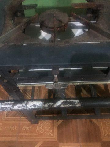Fogão industrial duas bocas - Foto 3