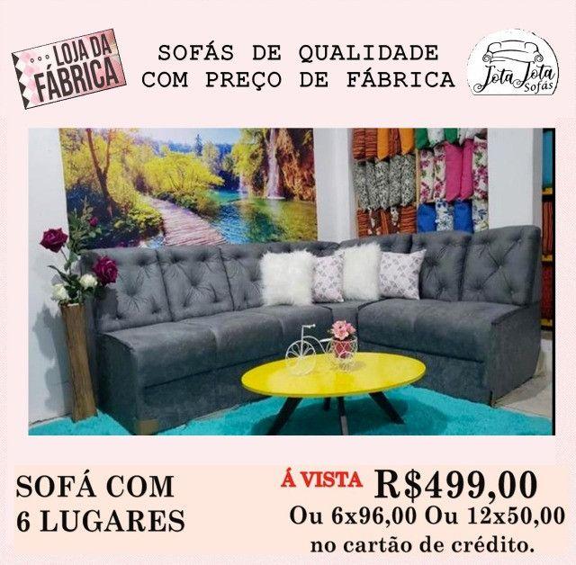 Conforto e Qualidade você encontra So aqui Lindos Sofás a Partir de R$349,00!!! - Foto 5