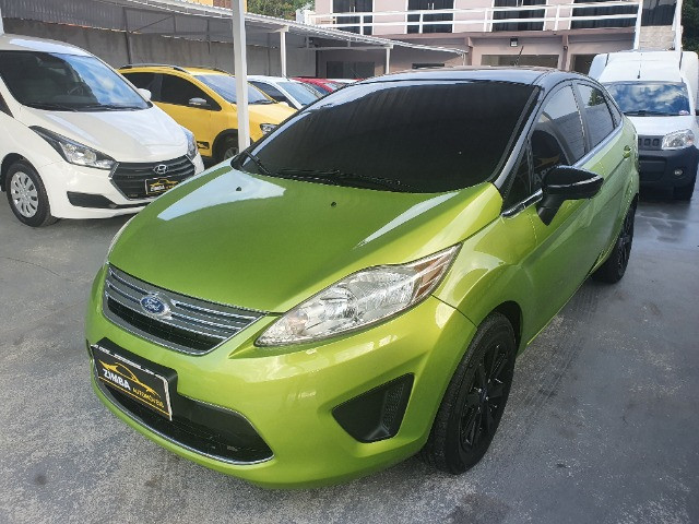 Ford-Fiesta Sedan 1.6 SE Flex Ano 2012 - Foto 2