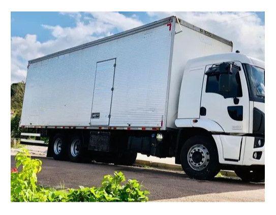 Ford 2429 2015 bau carga seca transferencia