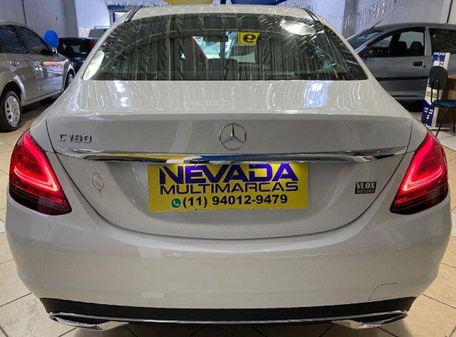 Mercedes Benz C 180 2019 1.6 Gasolina Único Dono Branca Estudo Troca e Financio - Foto 5