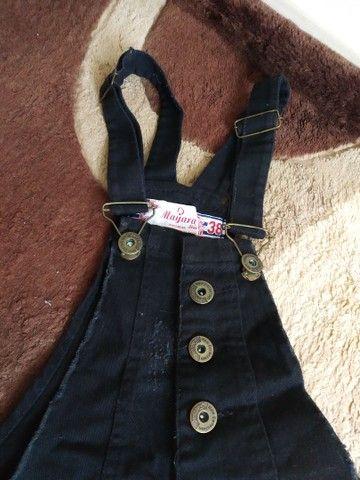 Macaquinho jeans  - Foto 2