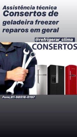Geladeira e ar-condicionado