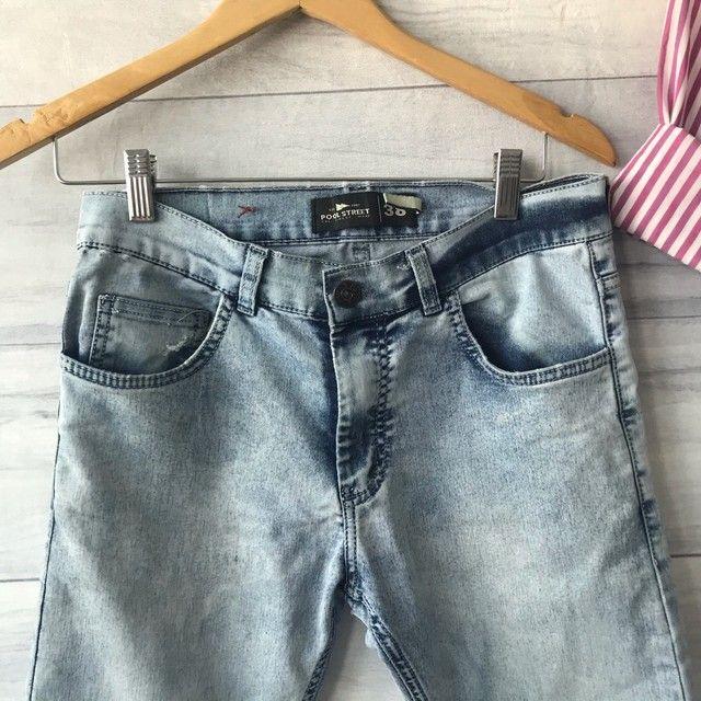 Calça Jeans Clara | Cintura Alta | Seminova | Brechó  - Foto 2