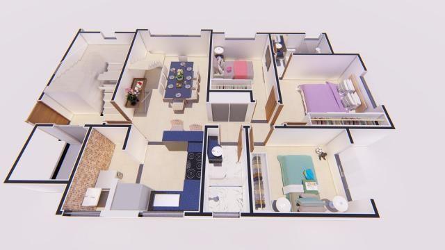 Apartamento à venda com 3 dormitórios em Castelo, Belo horizonte cod:ATC4272 - Foto 4