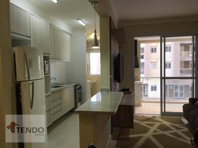 Apartamento 90 m² - alugar - 3 dormitórios - 2 suítes - Bairro Pau Preto - Indaiatuba/SP - Foto 3