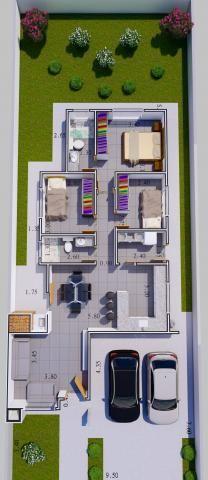 8287   Casa à venda com 3 quartos em São Cristóvão, Guarapuava - Foto 2