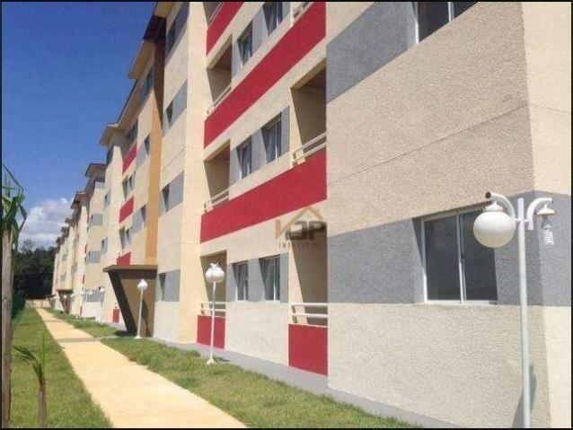 Apartamento com 2 dormitórios à venda, 51 m² por R$ 88.827,93 - Zona Rural - Iranduba/AM - Foto 3