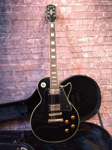 Guitarra Epiphone Les Paul Custom Pickups Gibson