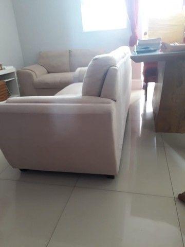 Jogo de sofá suede 2 e 3 lugares - Foto 4