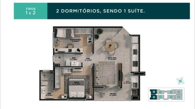 Apartamento Bairro Areias 02 e 03 dormitórios - Vivendas Home Club  - Foto 16