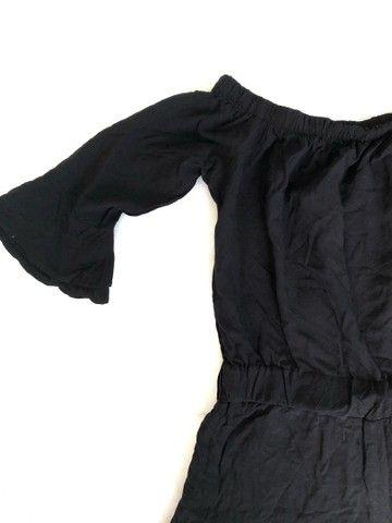 macacão feminino curto preto - Foto 2