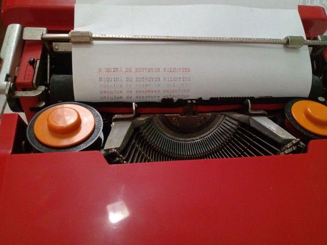Máquina de escrever Valentine  - Foto 3