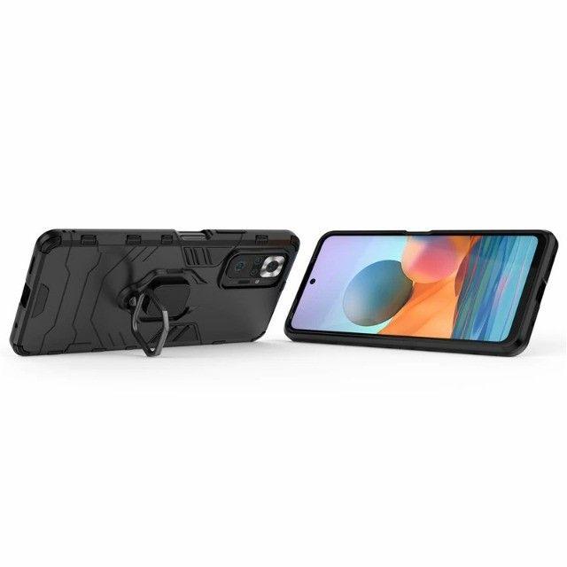 Capa 4 em 1 Anti Impacto Choque Militar Xiaomi Note 10 pro / 10 pro max, aceito cartão - Foto 6