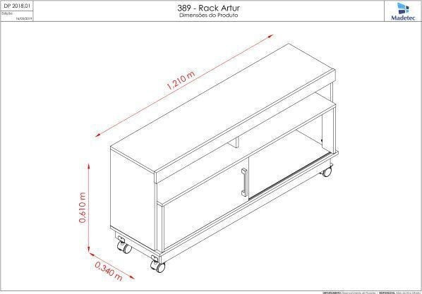 Rack - Preço Baixo Rack Arthur - Rack - Foto 4