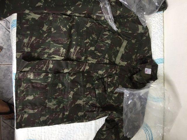 Roupa camuflada do exército brasileiro nova GG - Foto 3
