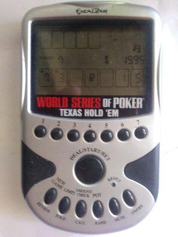 Jogo a Pilha de Bolso World Series Poker Texas Holdém 1 Excalibur e 1 MGA - Foto 3