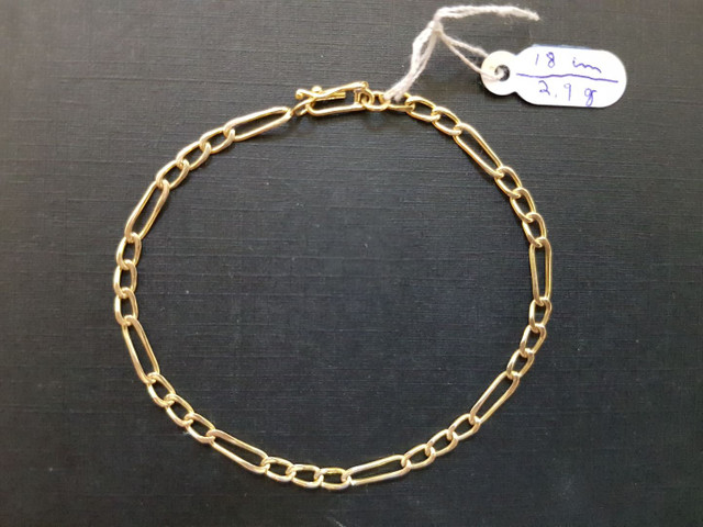 Pulseira de ouro 18k - Modelo 3x1