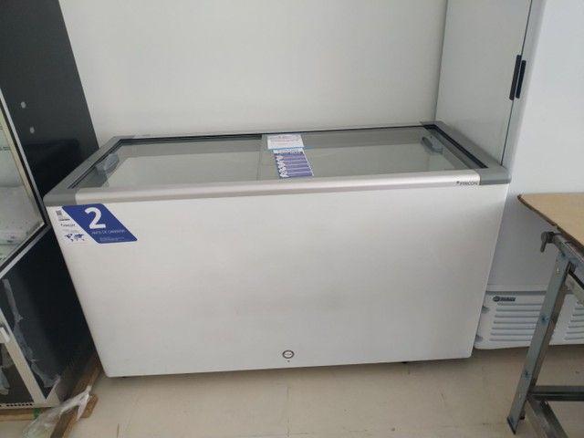 Freezer tampa de vidro 503 litros JM Equipamentos Paulo Malmegrim