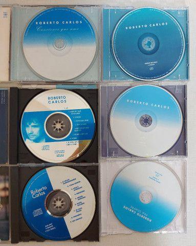 COLEÇÃO 6 CDs ROBERTO CARLOS - POUCO USO - PERFEITO ESTADO - Foto 3