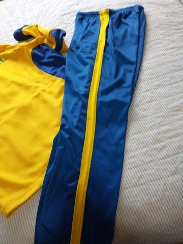 Abrigo de tênis , da seleção do Brasil - Foto 4