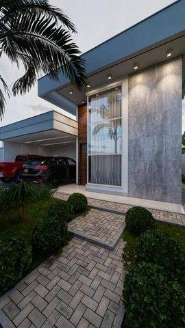 Excelente casa nova alto padrão com 3 suítes, sendo 1 com closet na 505 sul