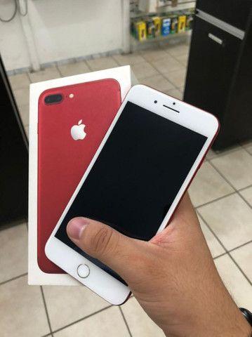 7 plus red 128gb - Peça rara chama !!!