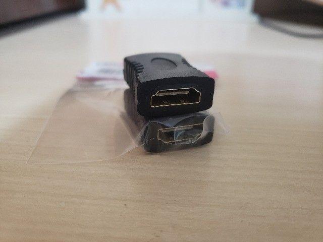 Adaptador HDMI (F) x HDMI (F)