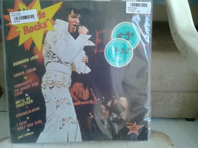 Lp elvis presley movie rocks importado