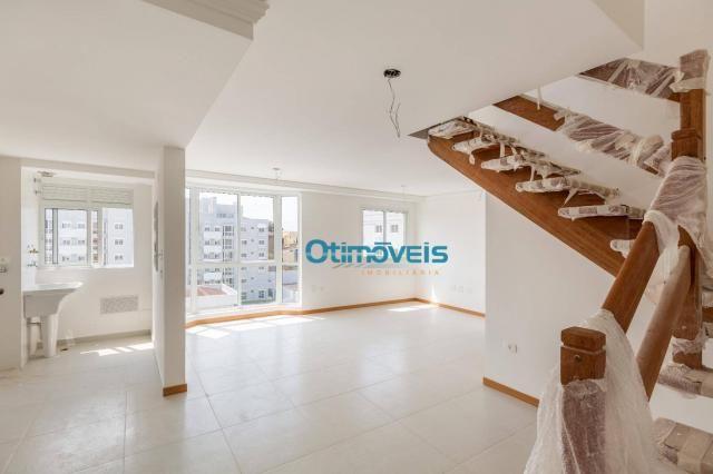 Cobertura com 3 dormitórios à venda, 101 m² - ecoville - curitiba/pr - Foto 3