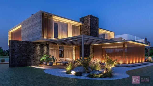 Casa com 5 dormitórios à venda, 1023 m² por r$ 13.544.000,00 - alphaville - gramado/rs - Foto 9