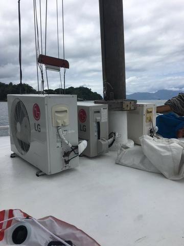 Escuna 70 pés MWM 400hp 4 cabines 2 geradores - Foto 10