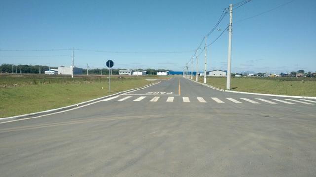 Terrenos industriais em Araquari parcelado direto com a loteadora