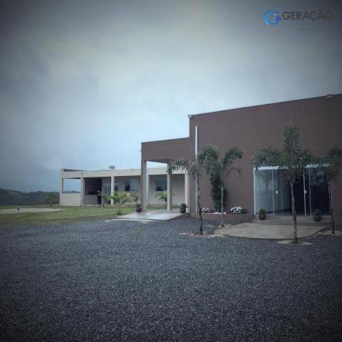 Area com 12000 m²´ área construída 600m² casa com 2 dormitórios - Foto 3