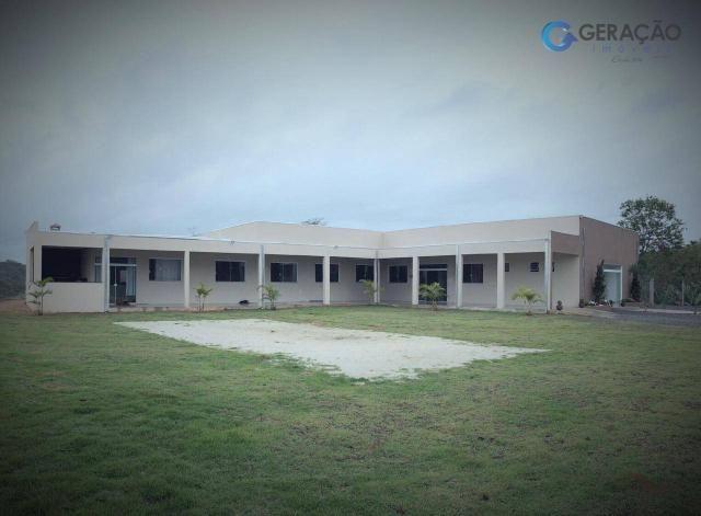 Area com 12000 m²´ área construída 600m² casa com 2 dormitórios - Foto 9