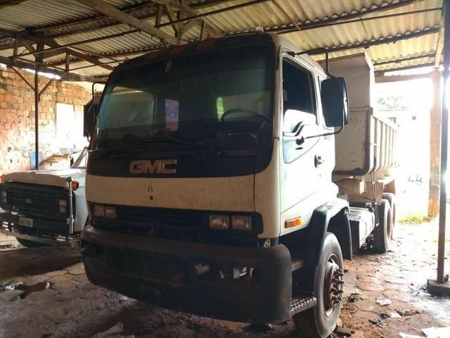 Caminhão caçamba GMC 15-190