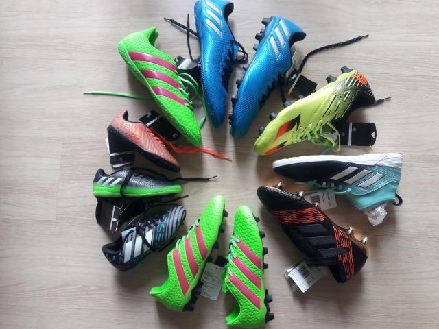91053a13a81 50 % OFF   Original  Chuteira Adidas original campo society futsal ...