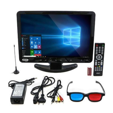 Tv Monitor 15,4 Pol KP-116 Knup Lcd Hd 1080p Dvd Player Hdmi Vga Usb - Foto 3