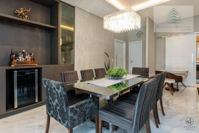Apartamento à venda, 185 m² por r$ 1.549.000,00 - campo comprido - curitiba/pr - Foto 9