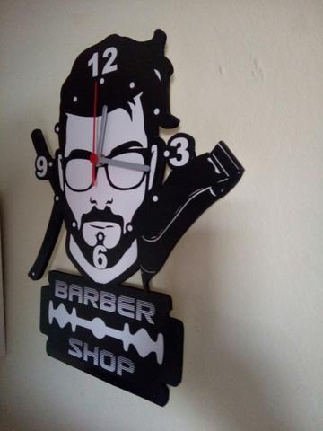 Relógio barbearia - Foto 2