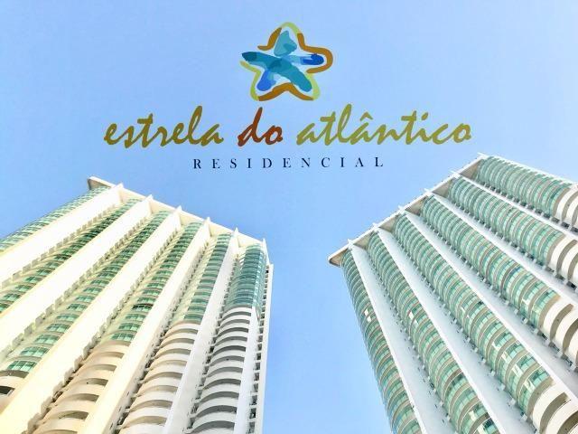 Estrela do Atlântico Apto 59m² 2/4 sendo 1 suite - Ponta Negra / Andar Alto