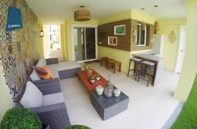 Casa à venda, 205 m² ou 213 m², 3 ou 4 Suítes, 3 vagas, Sapiranga, Fortaleza. - Foto 10