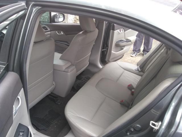 Honda civic lxr 2.0, cor cinza automático, flex - Foto 8
