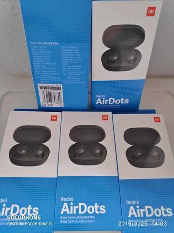 Original Fone De Ouvido Xiaomi Redmi Airdots Bluetooth 6x sem juros - Foto 3