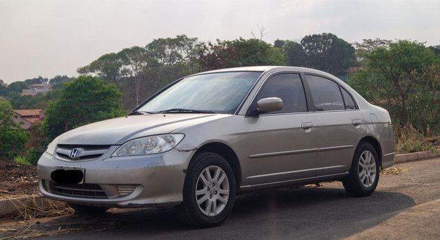 Honda Civic 1.7 2005 bancos de couro - Foto 4