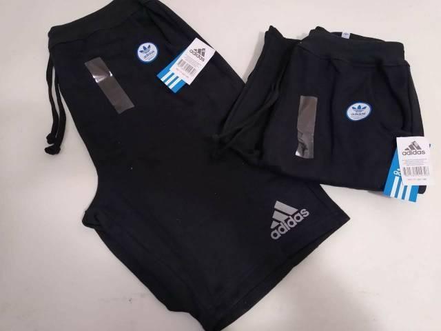 Bermudas Moletom Adidas Presente  - Foto 3