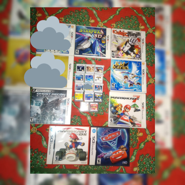 Coleção com 20 Jogos Impecáveis 3DS/DS -Sem juros - Kit Pack Lote