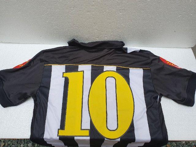 Camisa Santos Official Product Neymar Ganso 2010 G Coleção Decoração - Foto 2