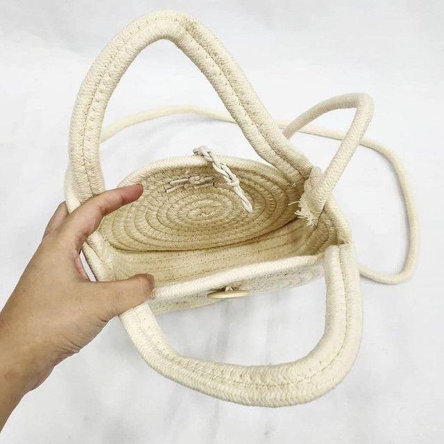 Bolsa redonda corda - Foto 3
